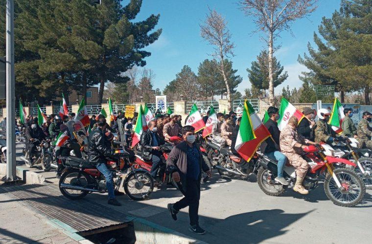 راهپیمایی ۲۲ بهمن ۱۳۹۹ درشهرستان فلاورجان به روایت تصویر