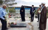 آیین غبارروبی و عطر افشانی مزار شهدا روستای سیاه افشار  به مناسبت روز شهدای مدافع حرم